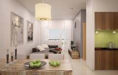 Cho thuê căn hộ saigonland apartment giá 15tr/tháng
