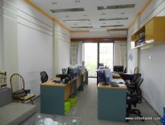 Văn phòng cho thuê phố lý nam đế, mặt tiền 14m. lh0901723628