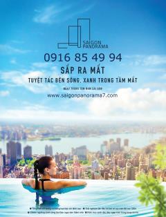 River panorama - tuyệt tác căn hộ xanh sắp ra mắt