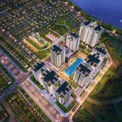 Bán căn hộ cao cấp the art 70m2 2pn giá từ 1,2 tỷ,view sông