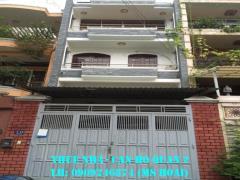 Cho thuê nhà phố an phú; dt 4x20; trệt, 2 lầu,4pn. 18tr/th.