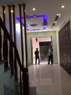 Nhà 5 tầng (35m2 - 3pn- ô tô đậu cách 50m) triều khúc