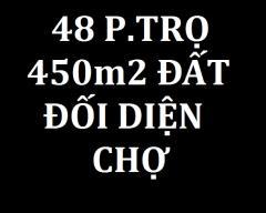 T.lý 48 p.trọ 580 tr và 450m2 295tr/nền đối diện chợ