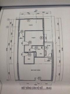 Bán căn hộ tầng 24 chung cư 250 minh khai 74,2m2. 1,85tỷ.