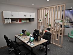 Văn phòng nhỏ tại mặt tiền đường hoa từ 4-6 chổ ngồi