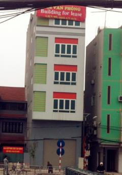 Cho thuê tòa nhà 5 tầng làm văn phòng,siêu thị, kinh doanh