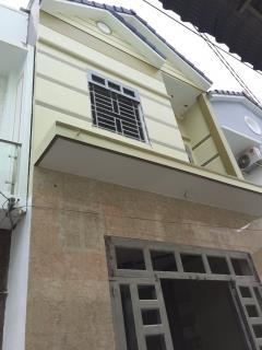 Bán nhà 1 lầu hẻm 423 trần quang diệu sau lưng trường tiểu