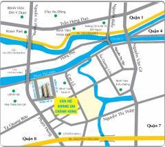 Bán căn hộ khang gia q8,2pn, dt:51m2,giá 1 tỷ 050tr.