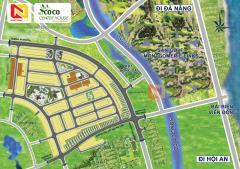 Bán block cuối cùng đường 33m dự án coco center house