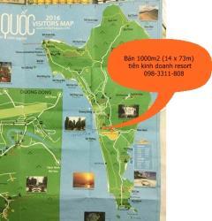 Bán 1000m2 đất kinh doanh resort cách bãi biển long beach 70