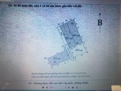 Chính chủ bán gấp đất tại 62/26 ngõ 1 bùi xương trạch.sđcc