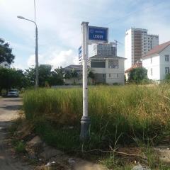 Cho thuê đất 2 mặt tiền đường loseby đà nẵng, cách biển 70m