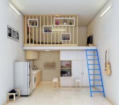 Cho thuê phòng trọ sàn gỗ ngay phú mỹ hưng - khu chế xuất