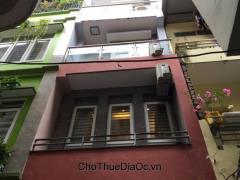 Cho thuê nhà ngõ rộng phố yên lạc 52m2x4,5mx5t (12 tr/th)
