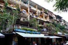 Cho thuê căn hộ tập thể tầng 4 khu a5 vạn phúc 58m2,2pn( 6 t