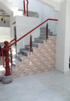 Bán nhà mới, sổ riêng, 3 tầng, dt 52m2, huỳnh tấn phát
