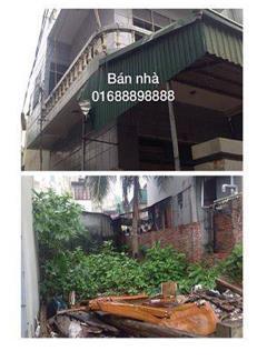 Bán đất & nhà 2 tầng, s=230m2, nhà 2 tầng s= 75m2