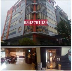 Ha70-cần bán tòa nhà 6 tầng: s= 392m2, nhà có 3 mặt tiền, hư