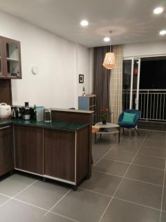 Cho thuê gấp căn hộ tropic garden 2pn lầu cao view đẹp chỉ 7