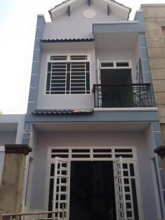 Nhà gần đường tô ký, 4x12.5m, 1 trệt 1 lầu, shr