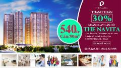 Nhận ngay căn hộ cao cấp tại navita chỉ với 540tr/căn/80m2