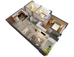 Dự án căn hộ tốt nhất quận 7, giá rẻ nhất khu vực, 24 triệu