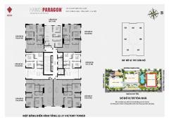 Cần tiền bán gấp căn 2 phòng ngủ 88m2 dự án paragon cầu giấy