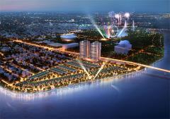 Đất trung tâm thương mại  hành chính mới q hải châu.