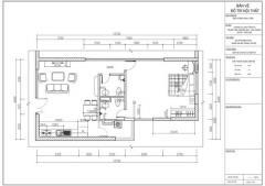 Cho thuê chung cư cao cấp 75m2 tại q.hbt (để ở hoặc làm vp)