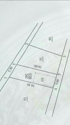Bán đất mđ trần hữu dực kéo dài, rộng 90m2, mt 5.5m