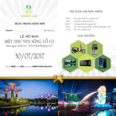 Ngày 30.07- mở bán sun river city - sở hữu sông cổ cò
