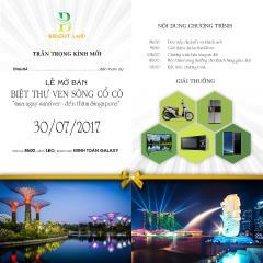 Siêu dự án kđt sinh thái nam đà nẵng mở bán ngày 30/07