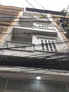 Bán nhà phân lô hoàng cầu- đống đa. dt 51m2 x 4 tầng. mt4,2m