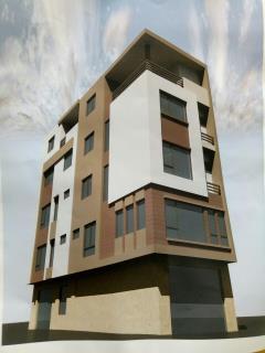 Nhà xây mới kđt mỗ lao-hà đông.5tầng*44m*mt 5m.2 mặt ngõ.