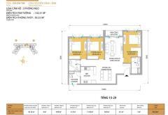 Bán lại căn hộ 95m2 3pn dự án masterry thảo điền lầu cao.