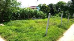 Bán đất thổ 2 mặt tiền củ chi, shr, 85m2, giá 300tr