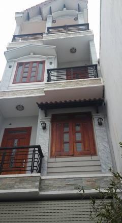 Bán gấp nhà 1 trệt 3 lầu,mặt tiền đường,giá 980 triệu tại bd