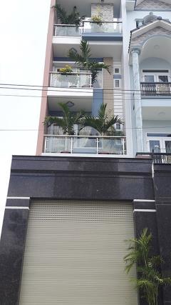 Bán nhà hẻm 8m dương quảng hàm p5 gò vấp 4x25m, 3 lầu mới 10