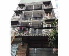 Khách sạn 5 lầu 26 phòng thu nhập 80,90 triệu.