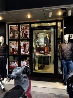 Nhượng cửa hàng kinh doanh quần áo 79 đội cấn