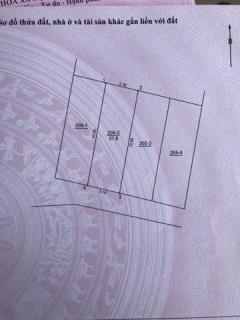 Thật dễ dàng sỡ hữu 2 mảnh đất32m2  tại phố trạm  long biên