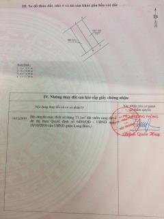 Cần bán mảnh đất phường phúc lợi, quận long biên.  dt: 73,1m