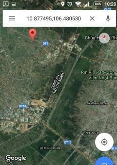 Bán lô đất 2 mặt tiền gần cụm công nghiệp lớn: kcn xuyên á