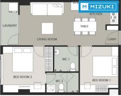 Cho thuê căn hộ fhome mới 100%, full nội thất