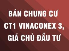 Chính chủ bán chung cư ct1 trung văn vinaconex 3 giá tốt
