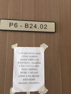 Bán căn hộ vinhomes central park chưa sử dụng - căn p6 - b24