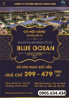 Nhận đặt chỗ dự án blue ocean - đất giá rẻ ven biển đà nẵng