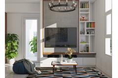 Cho thuê căn hộ chung cư tại m-one q7 60m2 2pn 17 triệu/th