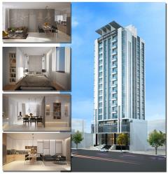 Can ho quang nguyen tower 2 pn full noi that. 78m2. tang 16