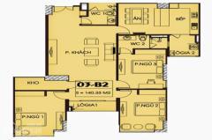 Bán căn hộ 1509 yên hòa sunshine vũ phạm hàm
